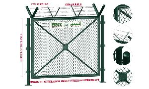 Demountable Chain Link Fence System