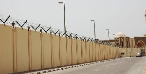 Wall Mounted Chain Link Fence