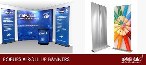 Pop Ups And Roll Up Banners