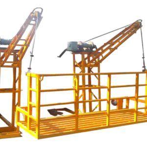 Hand Manual Suspended Working Platform