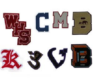 letter patches