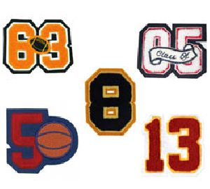 NUMBER PATCHES