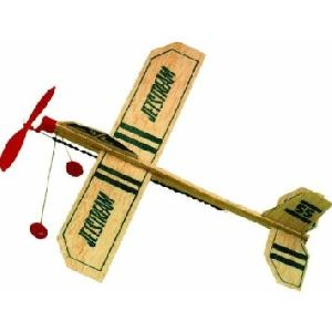 Rubber Powered Glider Model