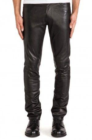 Men Lambskin Leather Pants