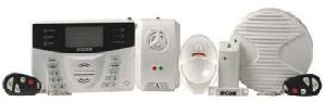 Burglar Alarm System For Homes