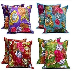 Kantha Fabric Cushions