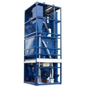 Garnet Recycling Machine