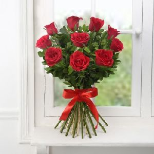 Bunch Of Exotic Red Roses