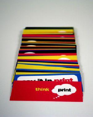 Pre-printed Cards