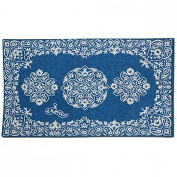 Feroz Wool Embroidered Traditional Handmade Rug