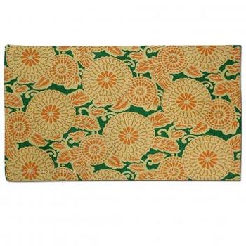 Japan Deco Wool Embroidered Traditional Handmade Rug
