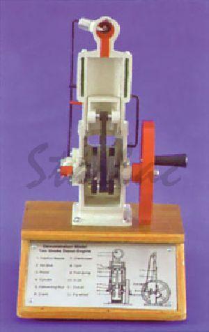 Two-stroke Diesel Engine Model