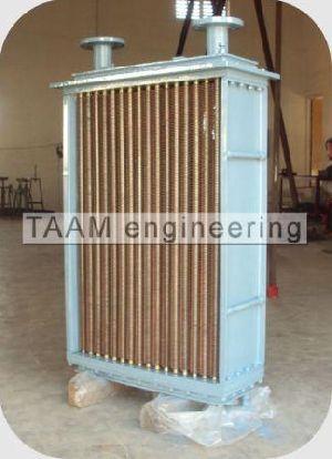 Re-tubing Fin Tube Heat Exchanger