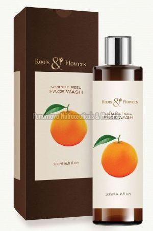Orange Peel Face Wash