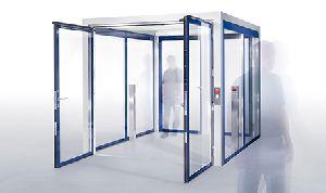 Security Interlocking Door System