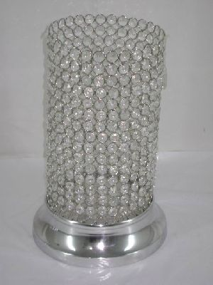 Crystal Hurricane Candle Holders