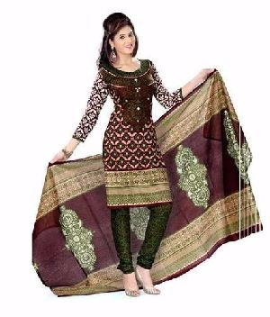 Ladies Cotton Churidar Suit
