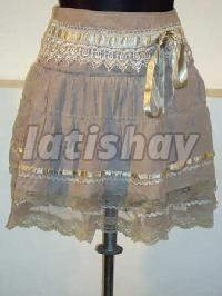 Polyester Mini Skirts