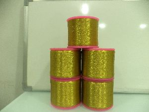 Weaving Zari Thread 05