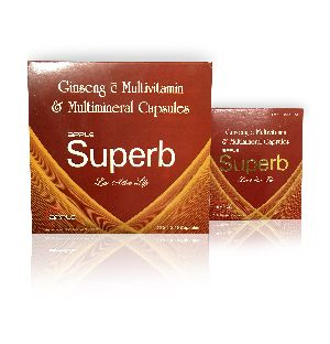 Herbal SUPERB Ginseng Multi minerals Capsules