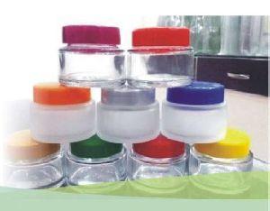 Glass Cosmetic Cream Jars