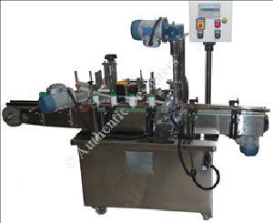 Automatic Ayurvedic Bottle Labeling Machine