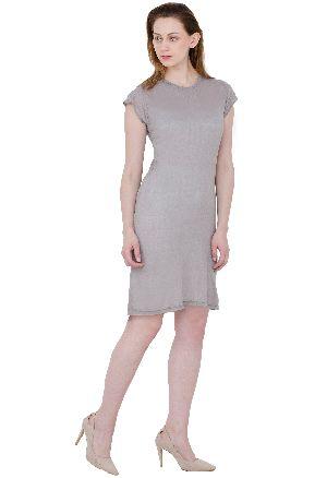 Ladies Plain Christmas Dress