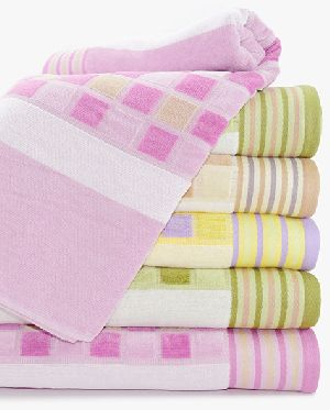 Lira Check Striped Towel