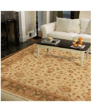 Classic Floral Wool Rug