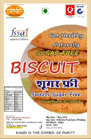 Khadi India Sugar Free Biscuit 01