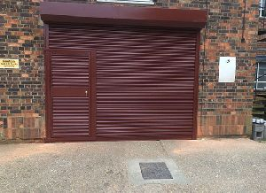 Rolling Shutters with wicket Gates