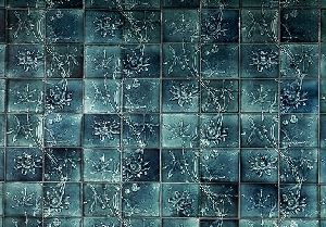 Clay Flower Ceiling Tile