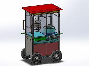Popcorn Cart Machine