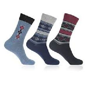 Mens Cotton Lycra Socks