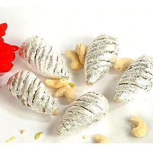 Kaju Shankh - Dry Fruit Sweets