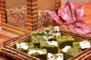 Pista Burfi - Dry Fruit Sweets