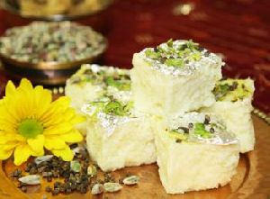 White Kalakand - Milk Sweets