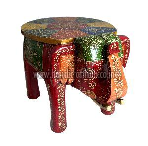 Awe Inspiring 8 Inches Wooden Elephant Stool Manufacturer In Jaipur Gmtry Best Dining Table And Chair Ideas Images Gmtryco