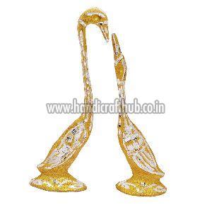 Handmade Decorative Golden Swan Statue
