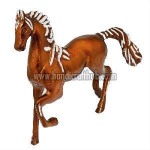 Metal Handcrafted Horse Figurine Showpiece