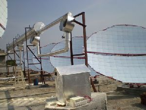 Solar Steam Cooking Systems