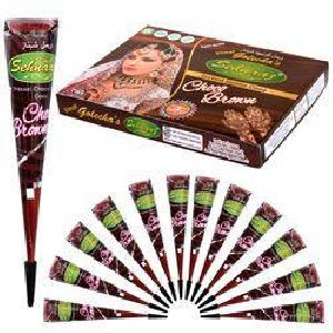 Instant Brown Henna Cone