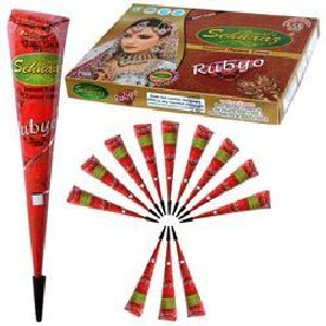 Instant Rubyo Henna Cone