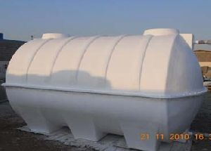 Grp Cylindrical Molded Water Tank