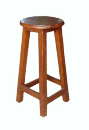 Wooden High Sitting Stool