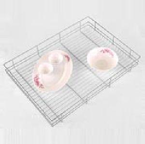 Big Drawer Ss Basket Kitchen Rack