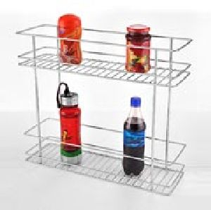 Kitchen Double Basket Pull Out Racks