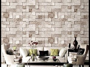 Living Room Stone Wallpaper