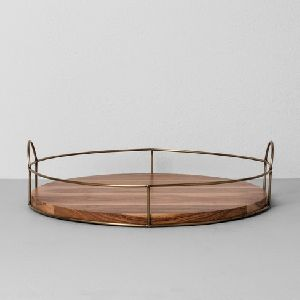 Iron Round Tray