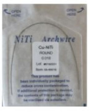 Copper Niti Round Arch Wire